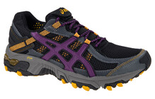 Asics Women's Gel Trabuco 14 W castle rock plum marigold
